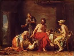 Júpiter e Mercúrio em casa de Filêmon e Báucis